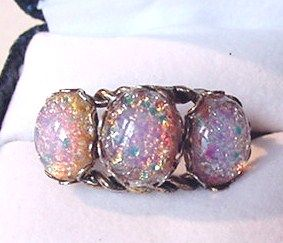 Dragons Breath Rhinestone Ring