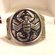 Vintage Zodiac Ring