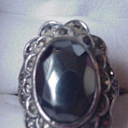 Sterling Silver Vintage Uncas Ring