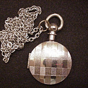 Pocket Watch Motif Locket