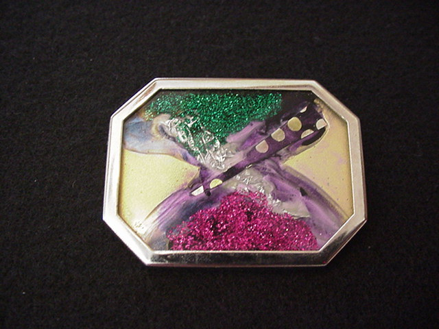 Art Under Glass Pin