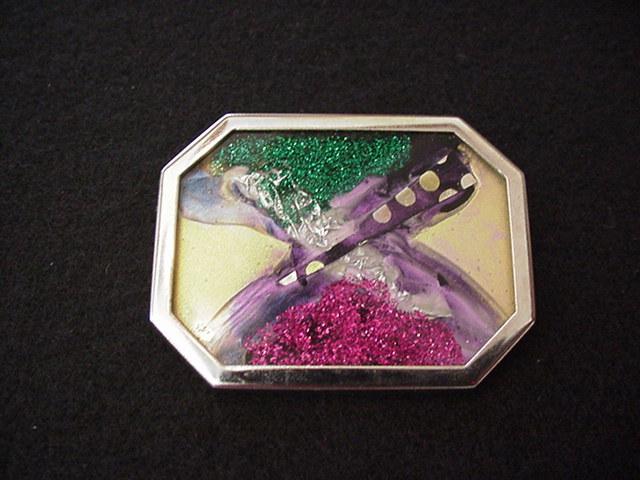 Art Under Glass Pin