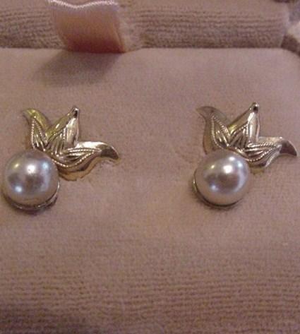 Vintage AMCO Screw Post Earrings in Original Box