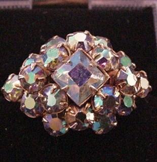 Vintage Aurora Borealis Ring