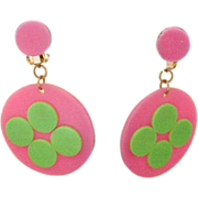 Fun, Flirty, Sixties Earrings