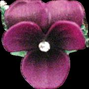 Vintage NWT Violet Ring