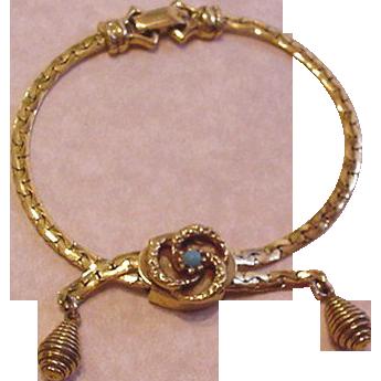 Victorian Revival Bracelet Goldette