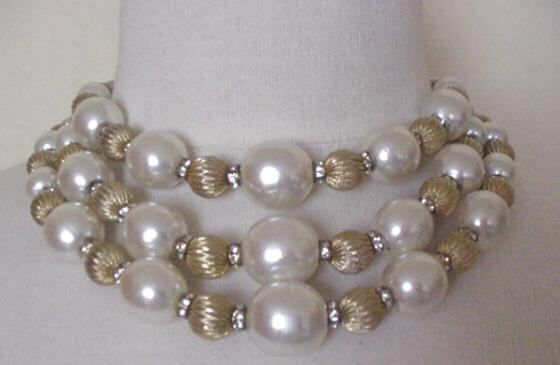 Big Spectacular Vendome Pearls