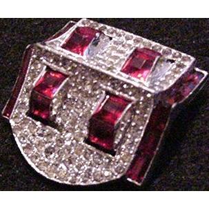 Trifari Dress Clip Marked Clip-mate