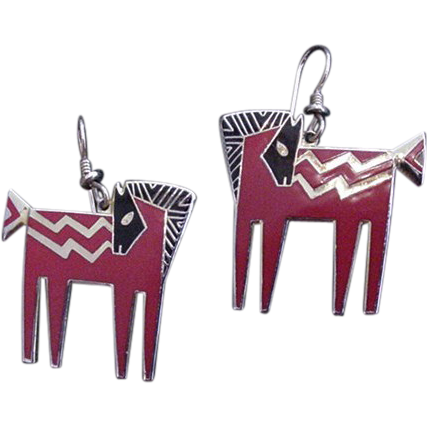 Temple Horse Earrings Laural Burch