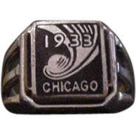 1933 Chicago Worlds Fair Ring