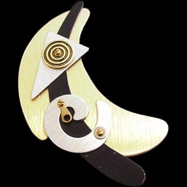 Pop Art Modernist Pin