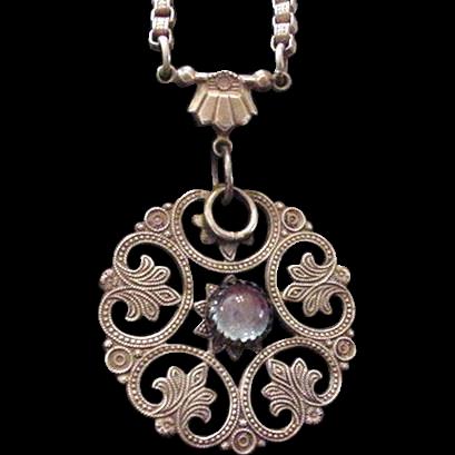 Sapphirette Necklace