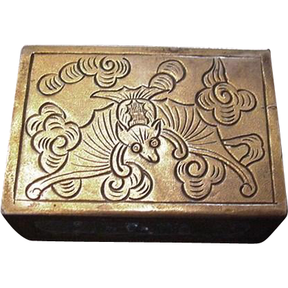 Victorian Match Box Holder Cover
