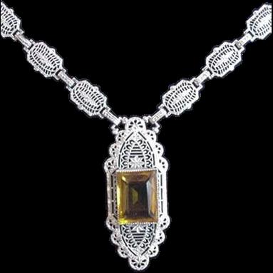 PSCO Art Deco Necklace