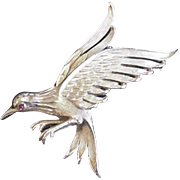 Trifari Eagle Pin