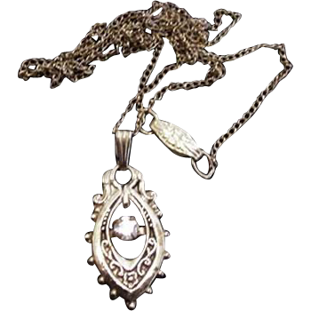 Victorian Revival Pendant Necklace