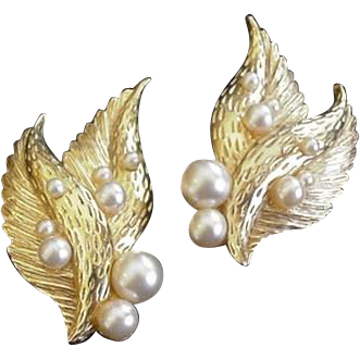 Schiaparelli Winged Earrings