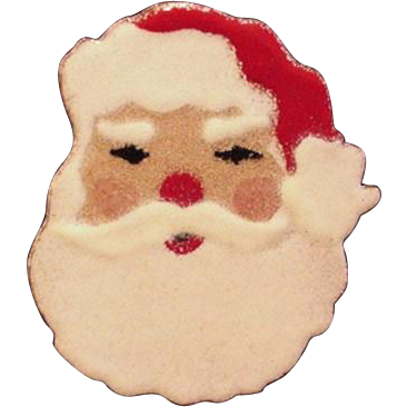 Santa Claus Large Pin