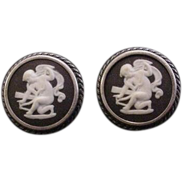 Wedgewood Sterling Silver Earrings