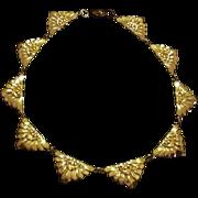 Sleek Art Deco Necklace