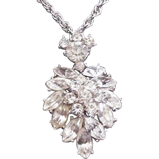 Trifari Rhinestone Necklace