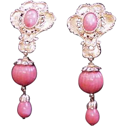 Barrera Faux Coral Earrings