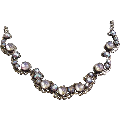 Florenza Rhinestone Necklace