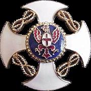 Versatile Coro Enamel Pin Pendant