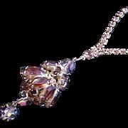 Chandelier Style Rhinestone Necklace