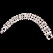 Big Flashy Rhinestone Bracelet