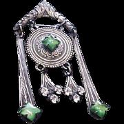 Rhinestone Celtic Pin