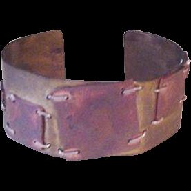 Brutalist Patchwork Bracelet