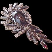 Juliana Rhinestone Pin Pendant