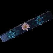 Celluloid Bar Pin
