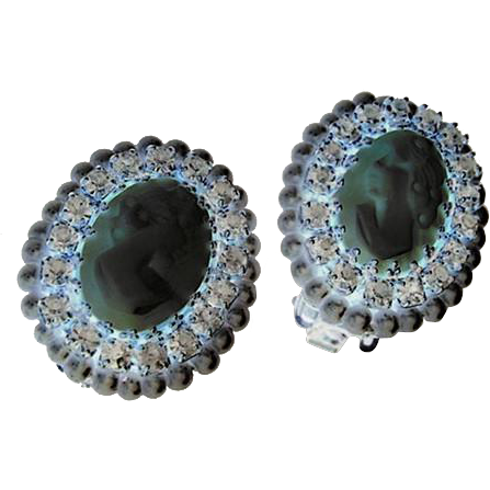 Hobe Cameo Earrings