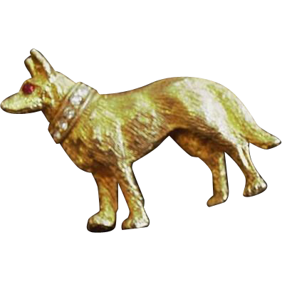German Shepard Pin