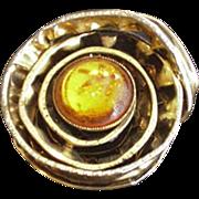 Spiraling Ribbon Pin