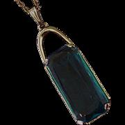 Castlecliff Rhinestone necklace