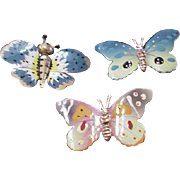 Butterflies Pin Set