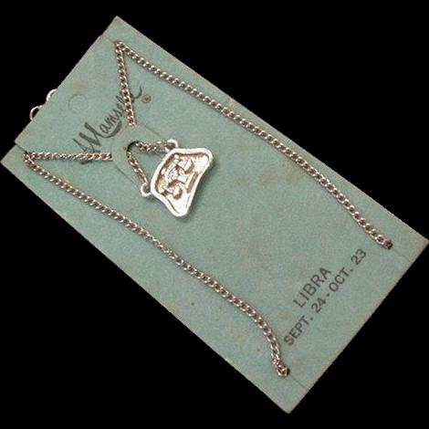 Mamselle Zodiac Necklace Libra