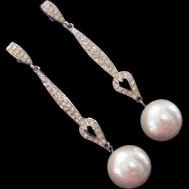 Big Rhinestone Earrings