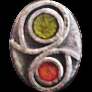 Mid Century Enamel Ring