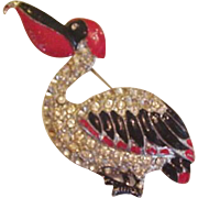 Fred Gray Pelican Pin