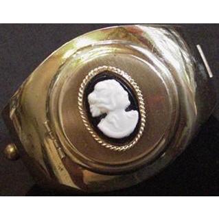 Victorian Revival Cameo Locket Bracelet