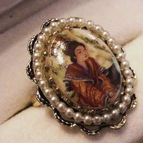 Oriental Costume Ring
