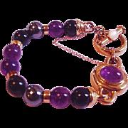 KYLO KAI-YIN LO Sterling Vermeil Amethyst Hematite MOP Bracelet