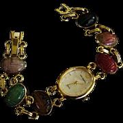 Jules Jurgensen Vintage Scarab Watch