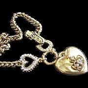 Victorian Revival Rhinestone Vintage Necklace