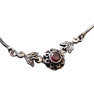 Sterling Silver Amethyst necklace